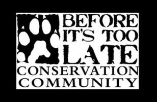 Before It's Too Late Conservation Community
